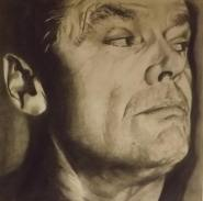 Nicola Pepper, Pencil drawing, Jack Nicholson, 2015